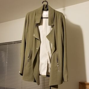 Wilfred crepe mayet jacket